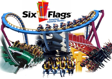 Six Flags PNG - 84622