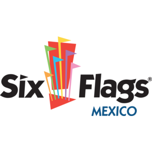 Free Vector Logo Six Flags Mexico - Six Flags PNG
