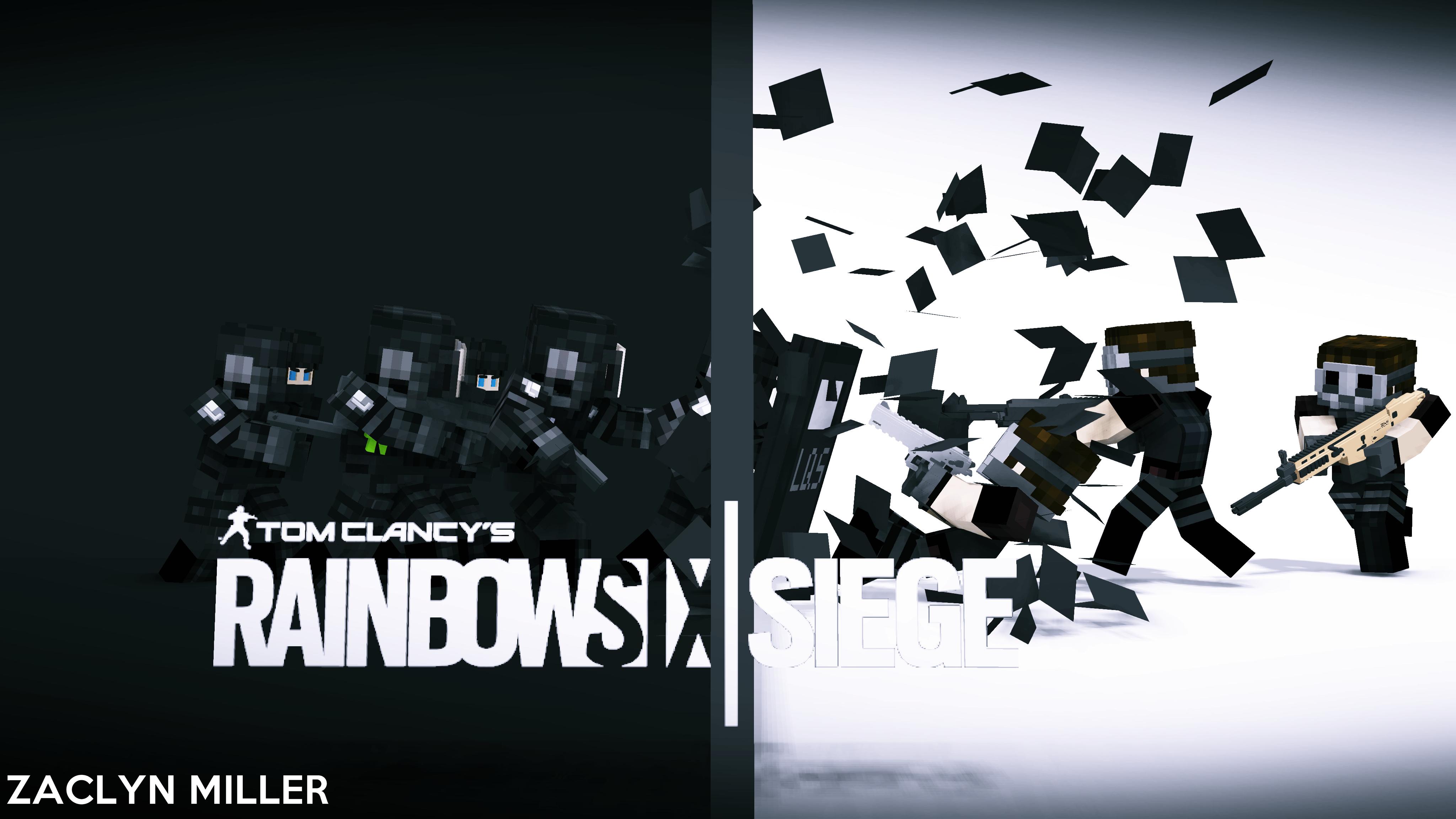 2016 Rainbow Six Siege Wallpaper - Six HD PNG