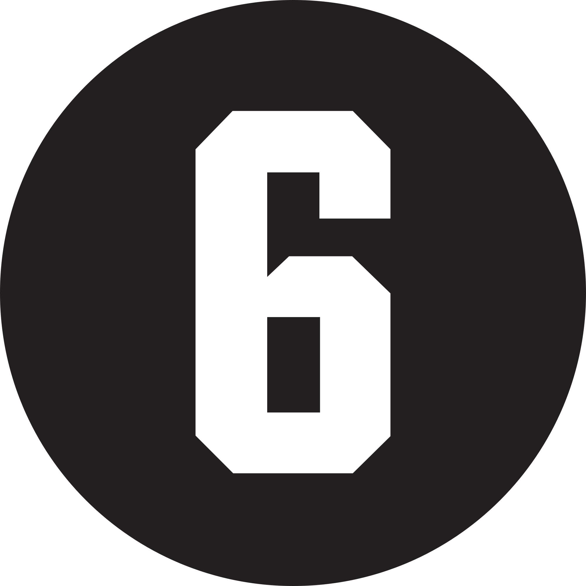 File:6 tag.png - Six PNG Black And White