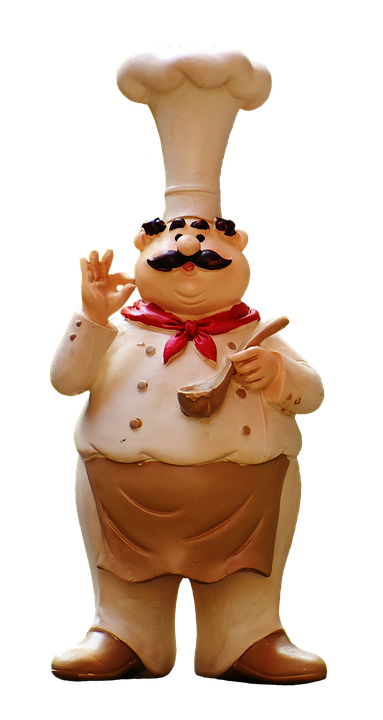Kok, Figur, Sjov, Gastronomi, Restaurant, Isolerede - Sjove Figurer PNG