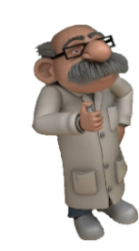 Professor Lodden - Sjove Figurer PNG