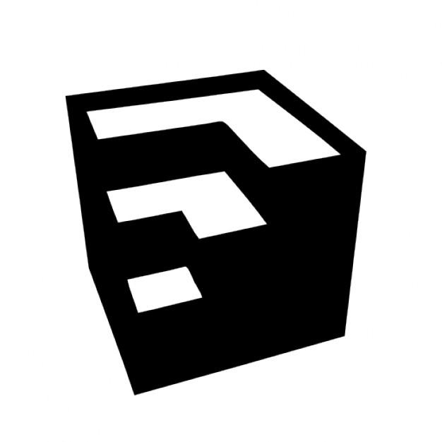 Google sketchup Free Icon - Sketchup Logo Vector PNG