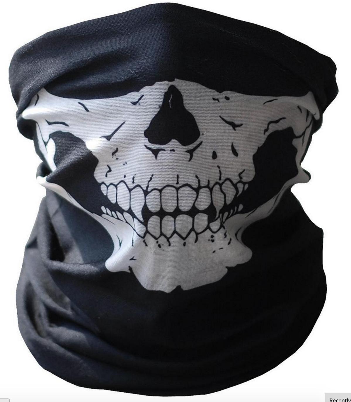 Skull Face Mask (Giveaway) - Mask PNG
