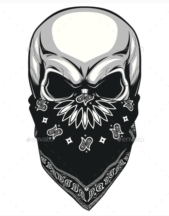 Skull Tattoo PNG - 15605