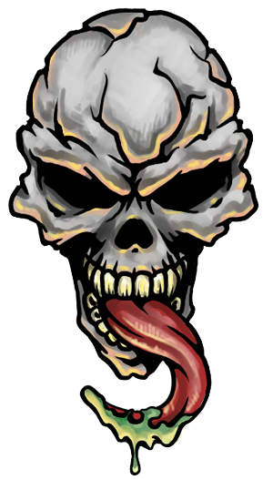 Skull Tattoo Transparent PNG