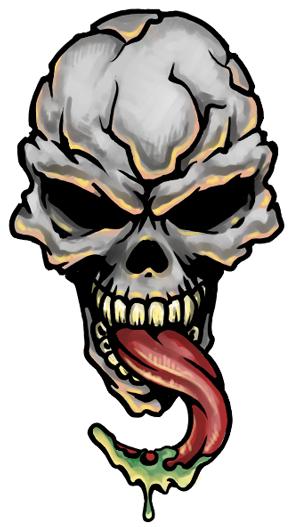 Skull Tattoo PNG - 15592