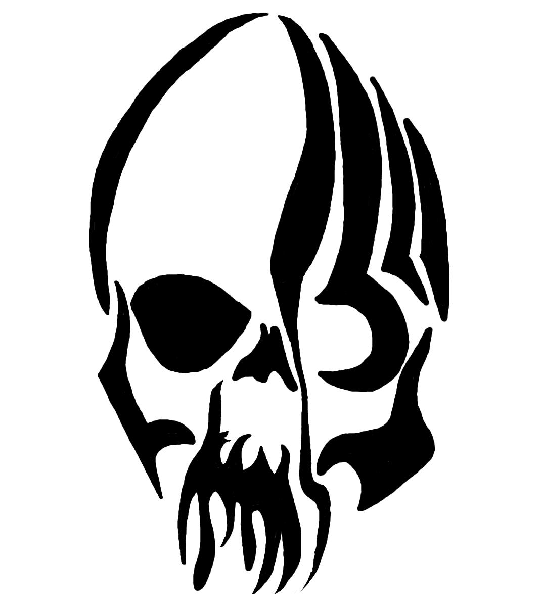 Skull Tattoo PNG - 15594