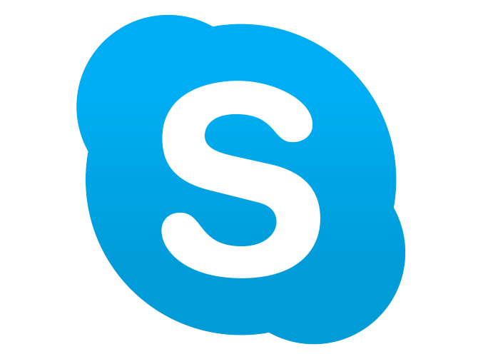 Skype logo photos and picture