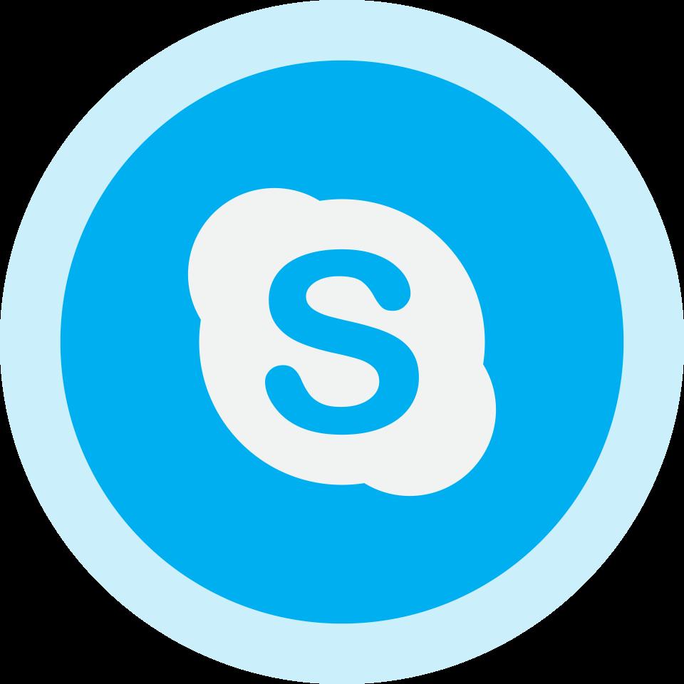 Circled Skype Logo Png Image - Purepng | Free Transparent Cc0 Png Pluspng.com  - Skype Logo PNG