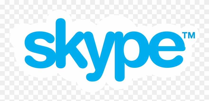 Skype Watermark Png - Skype Logo Clipart (#4599907) - Pinclipart - Skype Logo PNG