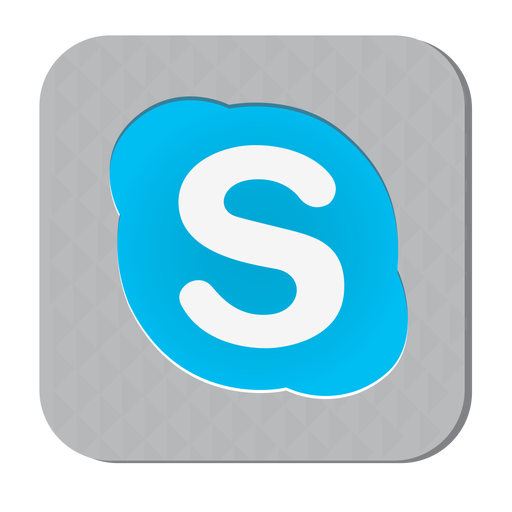 Skype rubber icon - Skype PNG