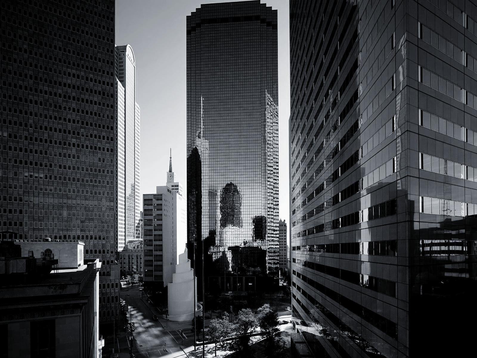 Skyscraper PNG Black And White - 87008