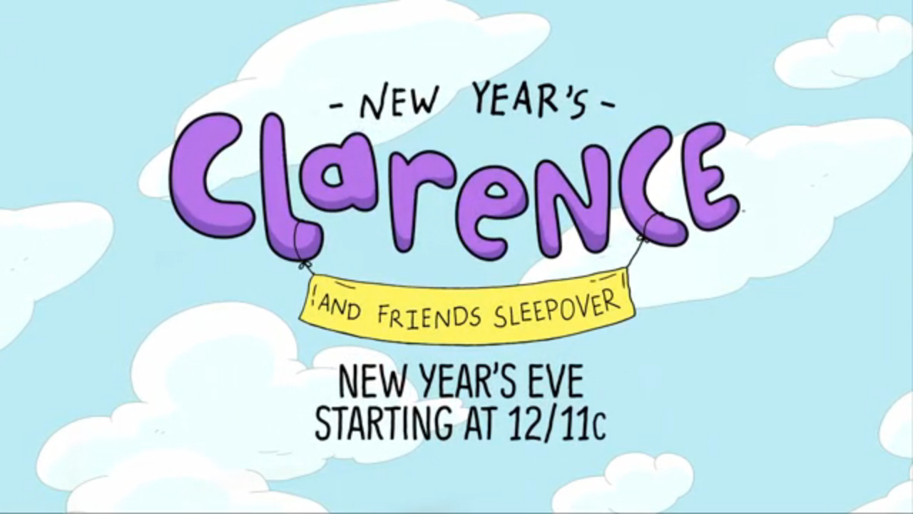 Clarence New Yearu0027s Sleepover.png - Sleepover PNG HD