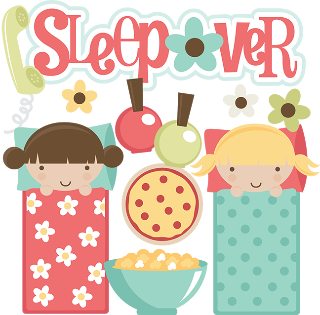 Large sleepover-girl2.png - Sleepover PNG HD