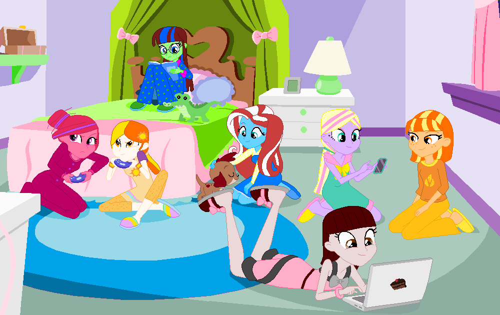 Sleepover at Hersheyu0027s by FunZoneGallery16 PlusPng.com  - Sleepover PNG HD