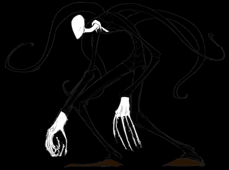 Slender Man PNG - 7940
