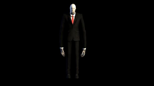 Slender Man PNG - 7917