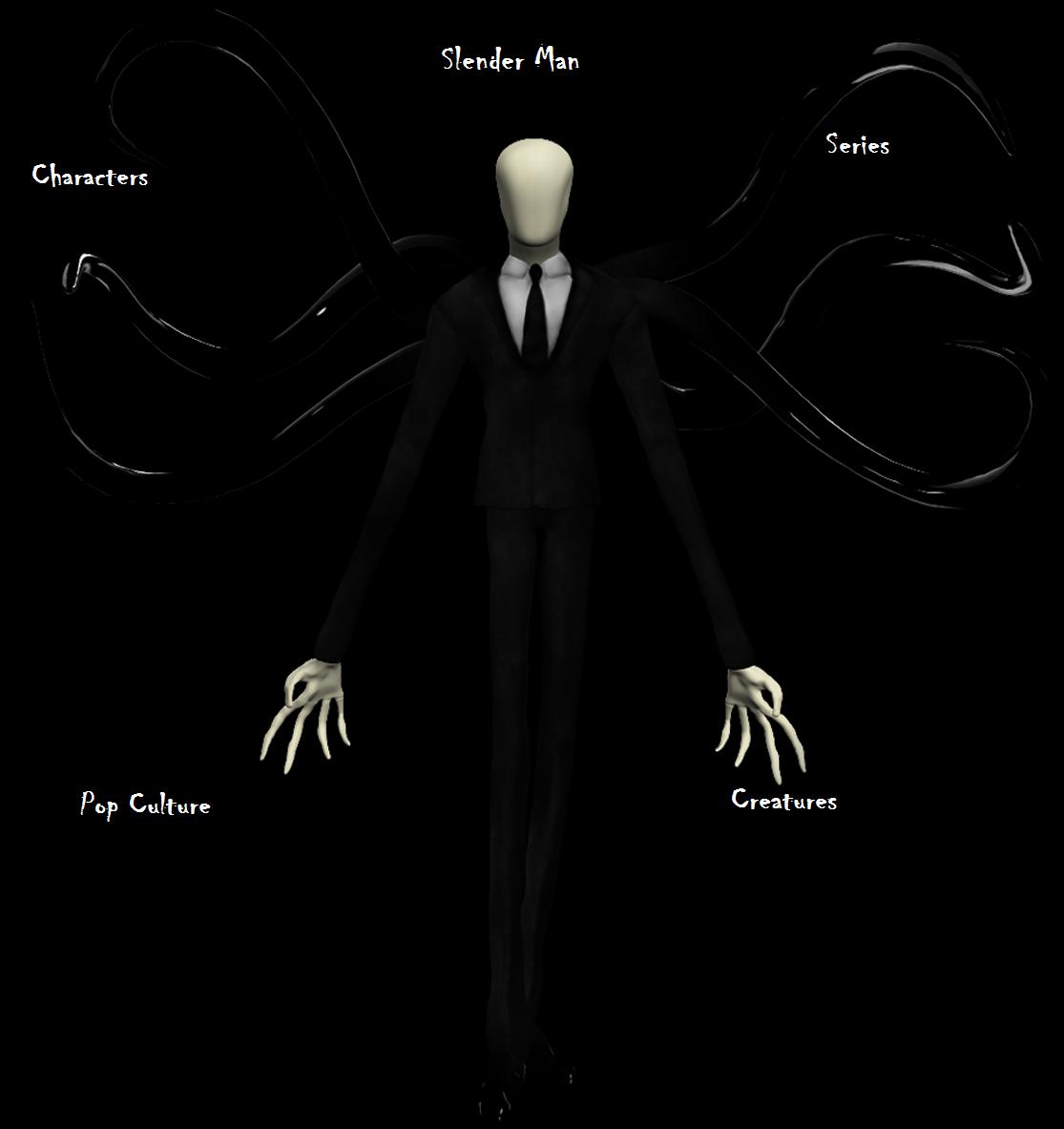 Front page logo slenderman.png - Slender Man PNG