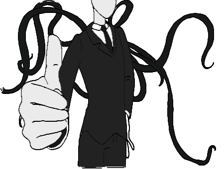 sexy I am not so sure Slenderman Sexy - Slender Man PNG