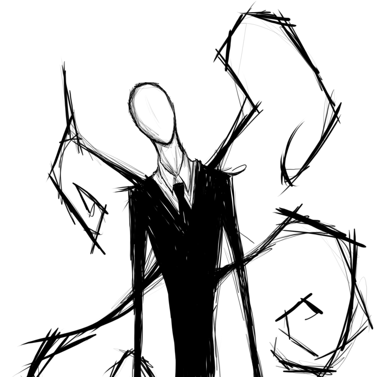 Slender man by BrokenDoll777 Slender Man Drawings From The Game - Slender Man PNG