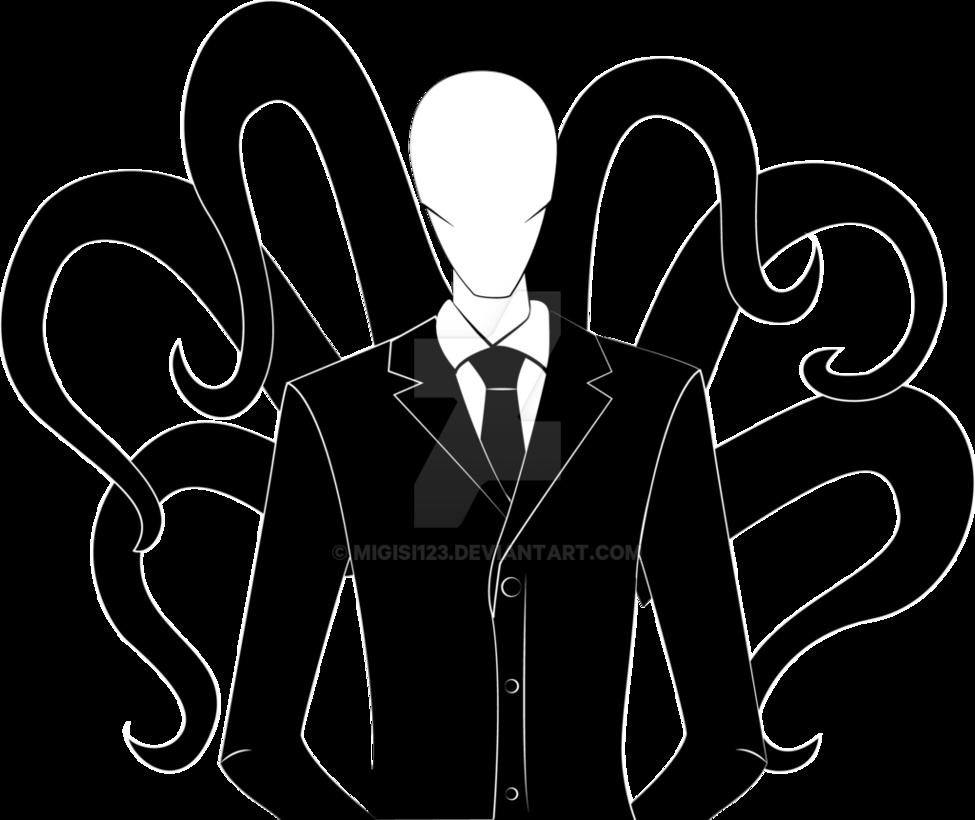 Slender Man Transparent PNG Image - Slender Man PNG