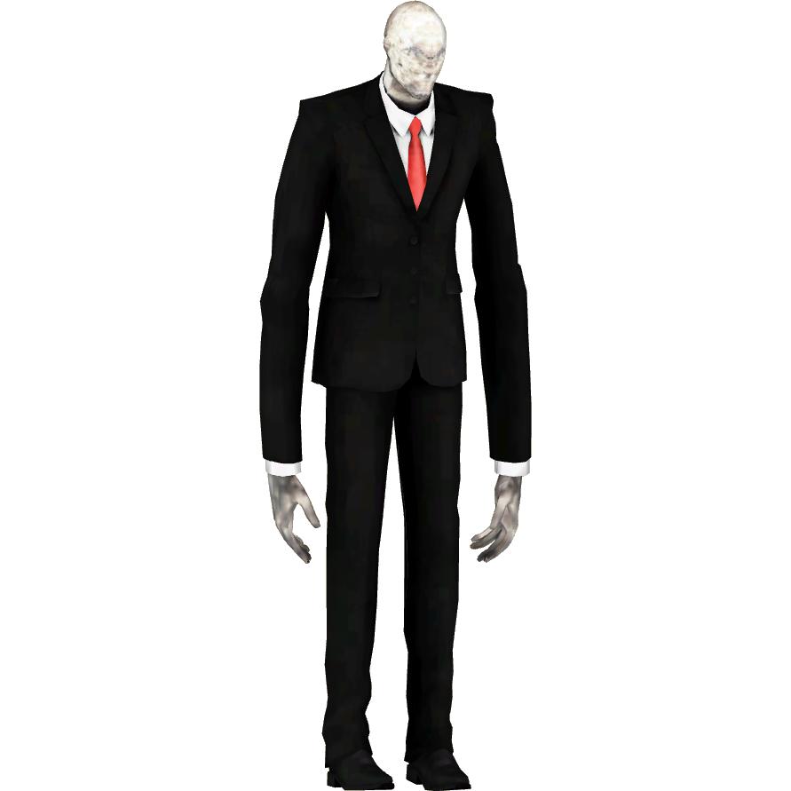 Slenderman (Dycki1231).png - Slender Man PNG