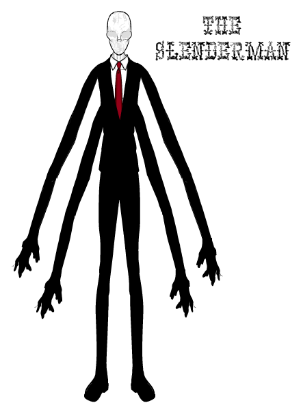 Slender Man PNG - 7935