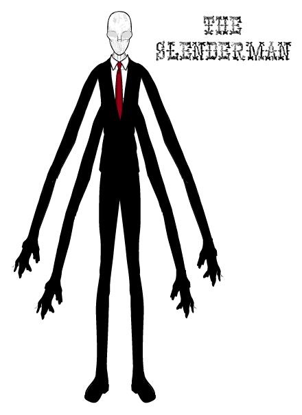 Slenderman-Luc - Slender Man PNG