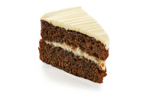 Carrot Cake - PNG Slice Of Cake - Slice Of Cake PNG HD