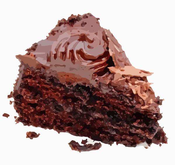 PNG: small · medium · large - Slice Of Cake PNG HD