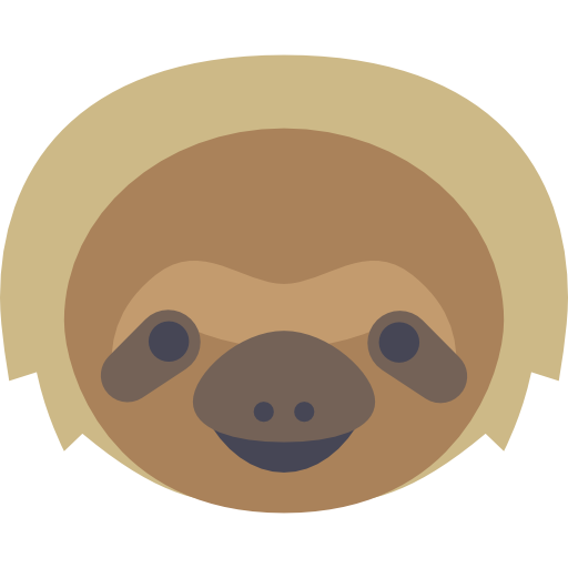 Sloth free icon - Sloth PNG
