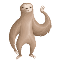 Sloth PNG - 6281