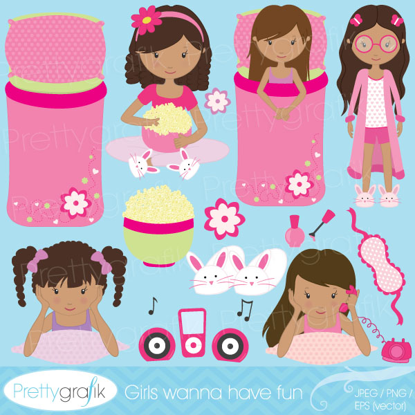 sleepover clip art free clipart sleepover clipart collection items similar  to slumber music clipart - Sleepover - Slumber Party PNG HD
