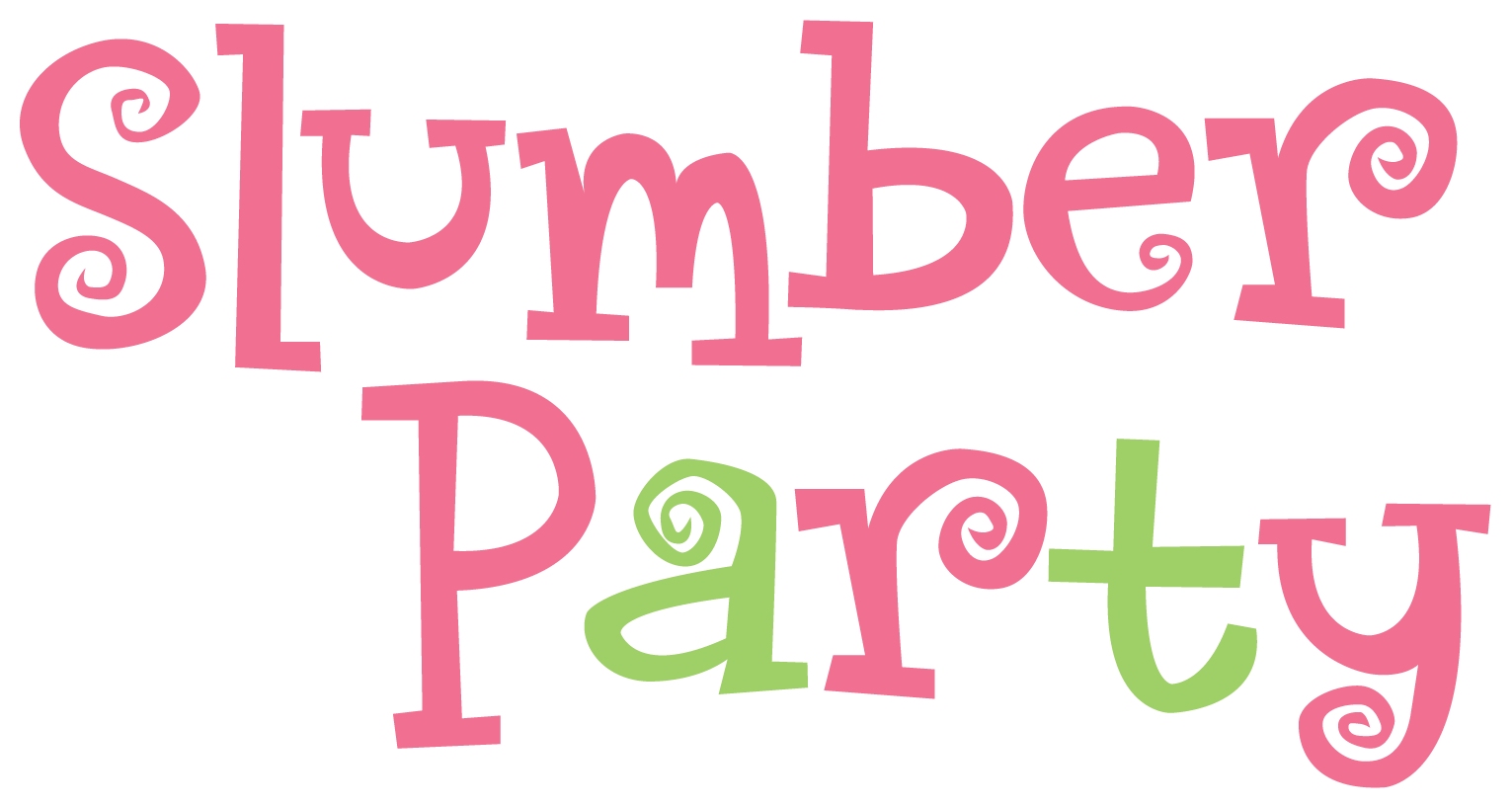 Words u203f✿u2040○ · Pajama PartySlumber PlusPng.com  - Slumber Party PNG HD