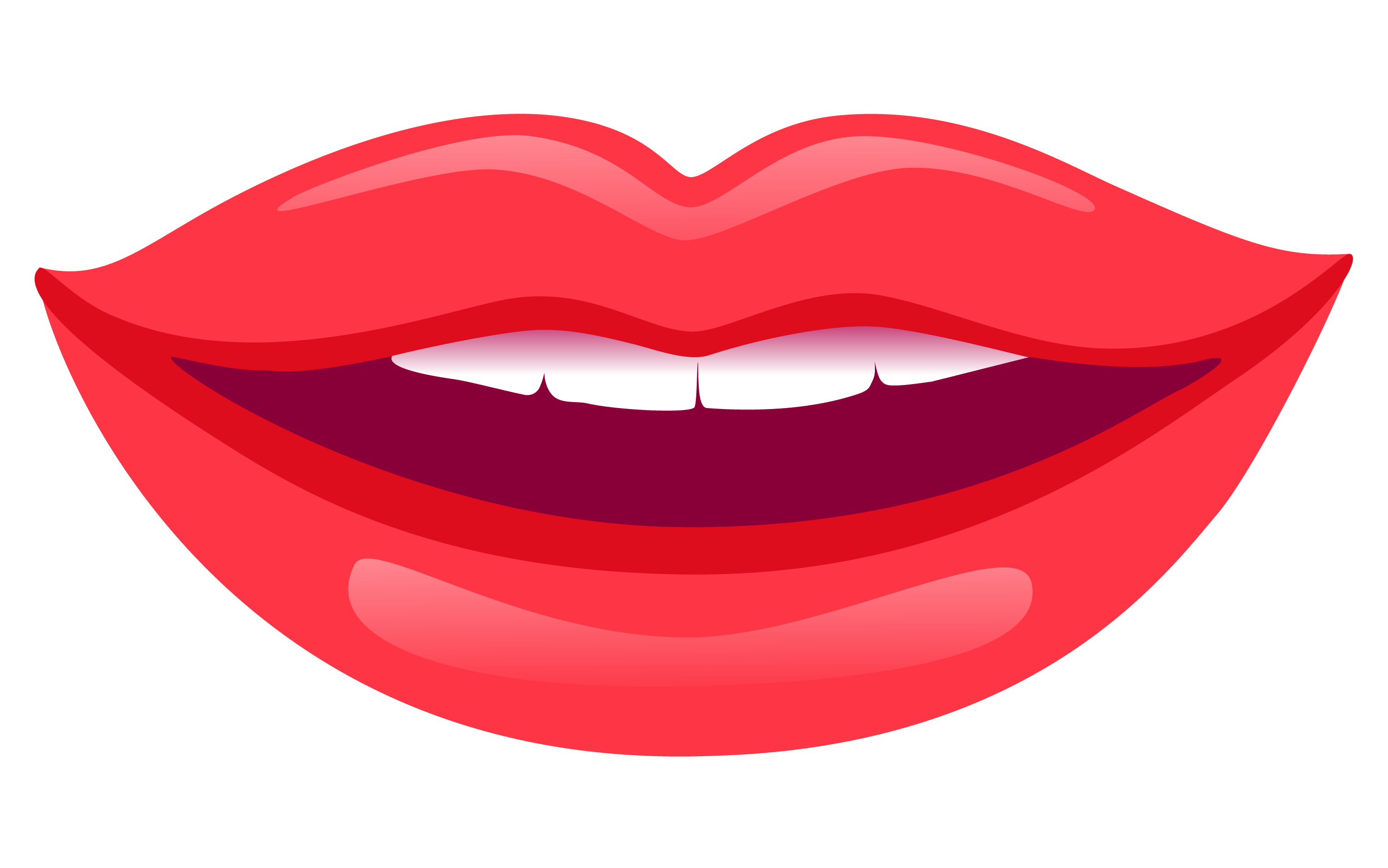 Lips PNG Transparent Image - Smiling Lips PNG HD