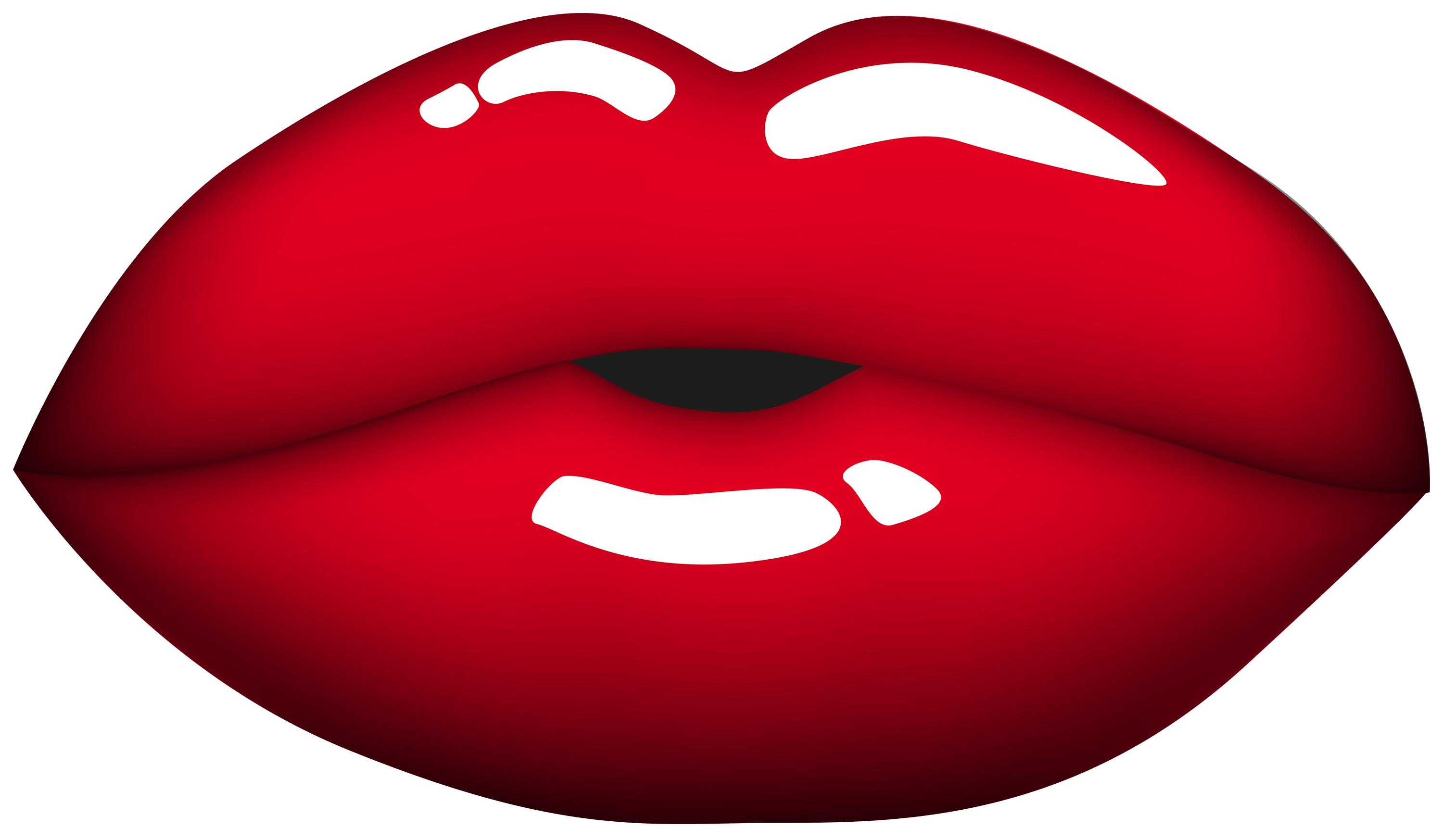 Red Mouth PNG Clipart