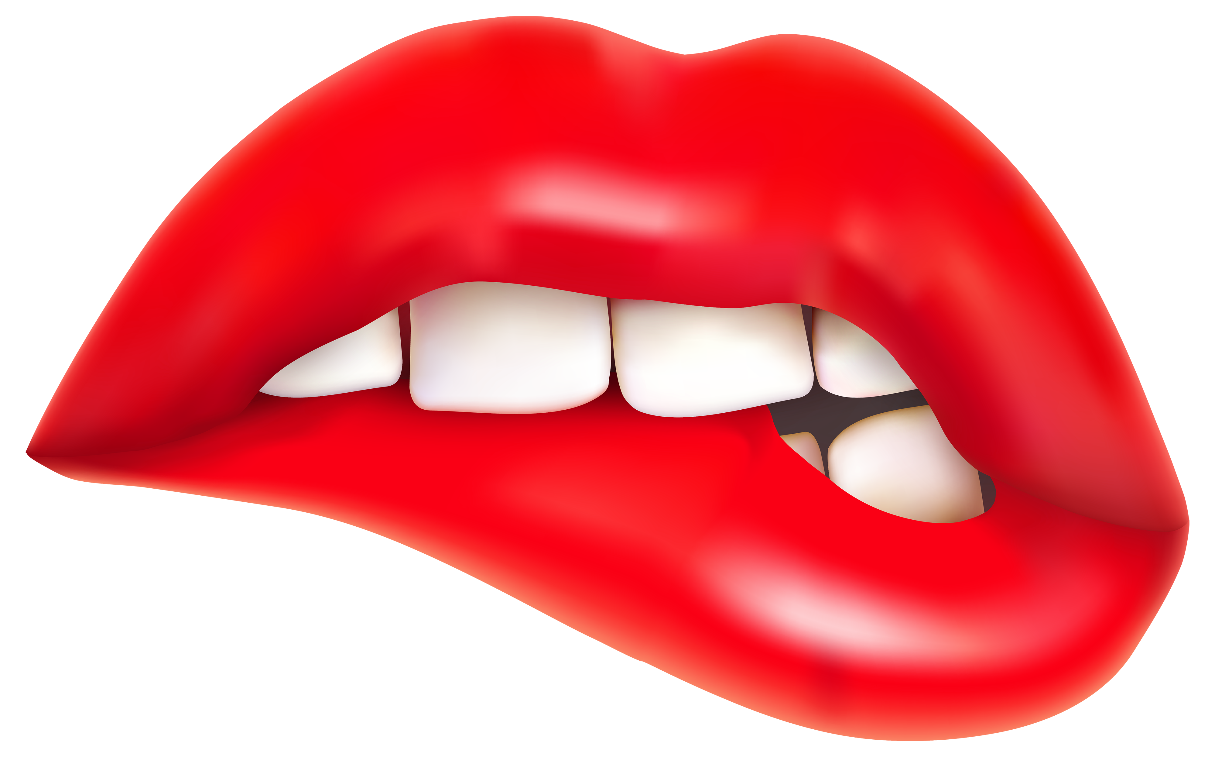Smile lips clipart free clipa