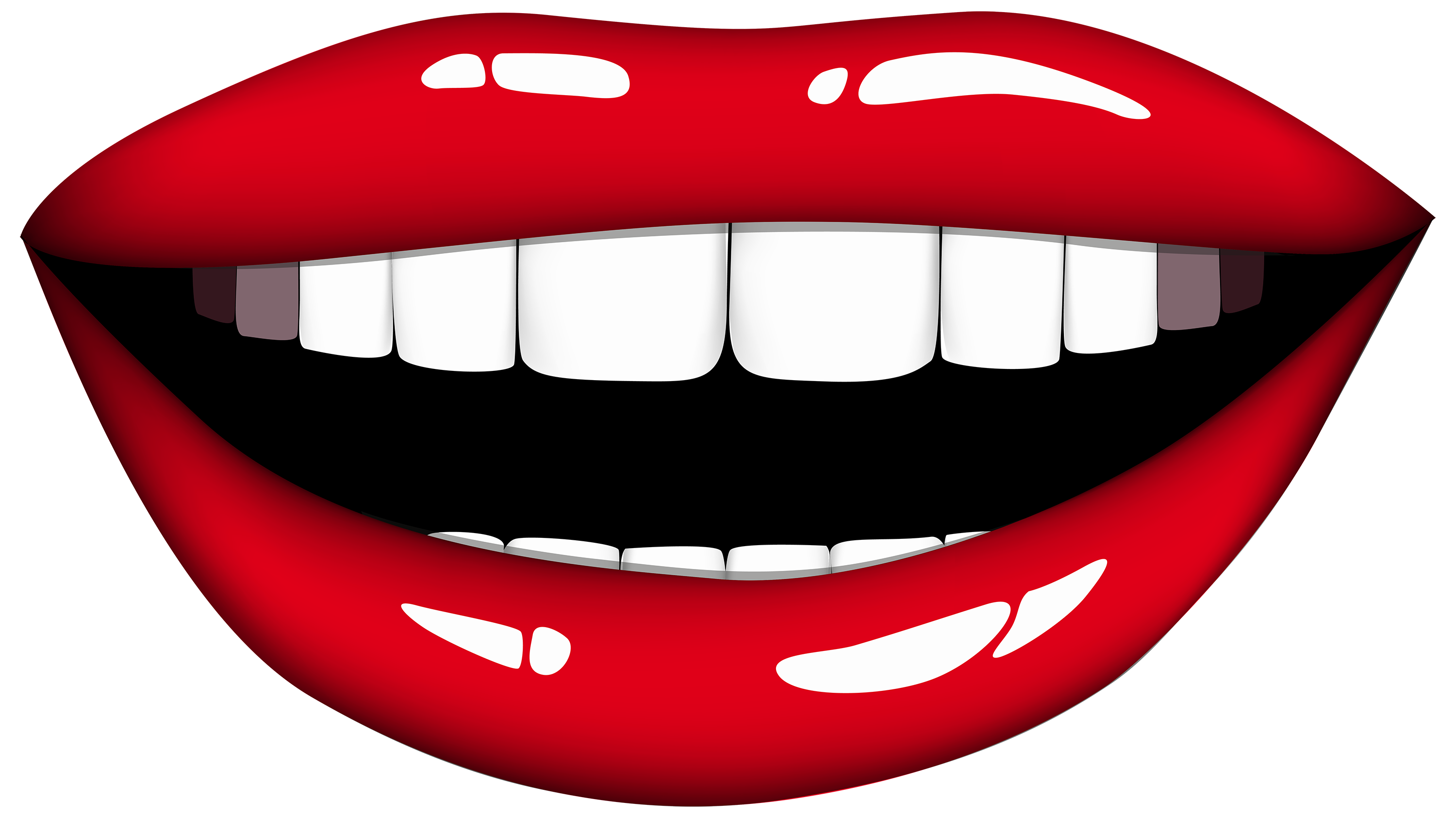 Smile lips clipart free clipart images 6 - Smile Lips PNG - Smiling Lips PNG HD