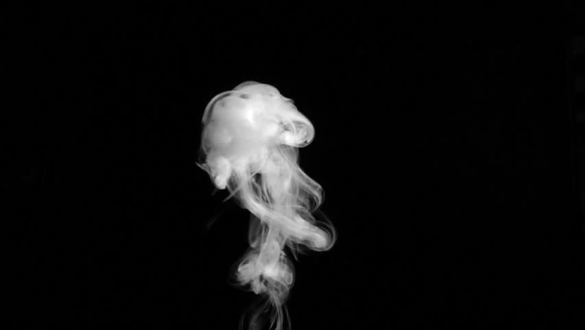 Smoke On Black Background - HD stock video clip - Smoke HD PNG
