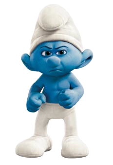 GROUCHY1.png - Smurf PNG