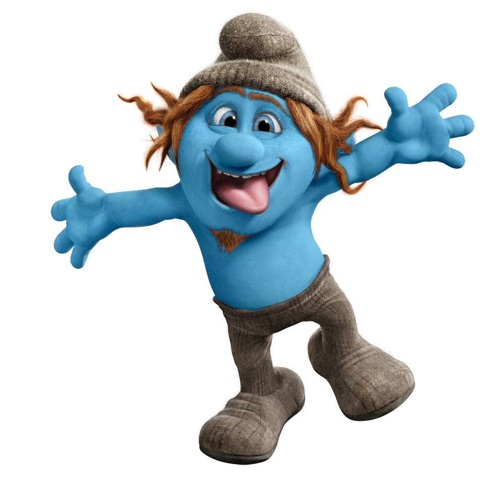Hackus-smurf.png - Smurf PNG