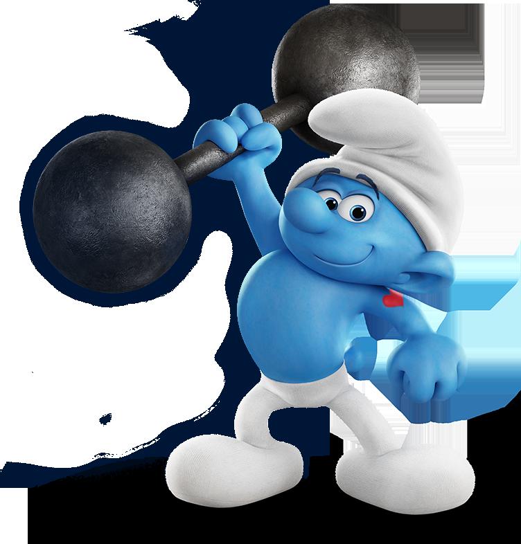 Hefty smurfs 2017.png - Smurf PNG