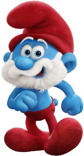 Papa Smurf 2017Movie.png - Smurf PNG