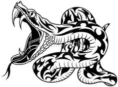 Snake Tattoo PNG - 3598