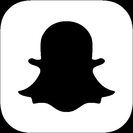 White snapchat icon - Snapchat PNG