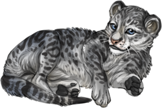 Item snow leopard cub.png - Snow Leopard PNG