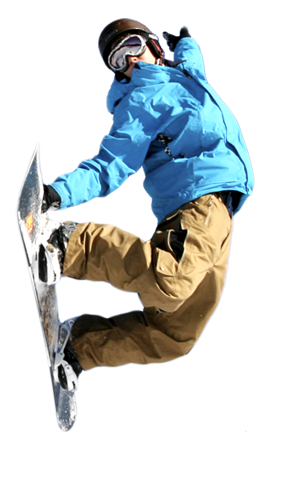 Man on snowboard PNG image - Snowboarding HD PNG