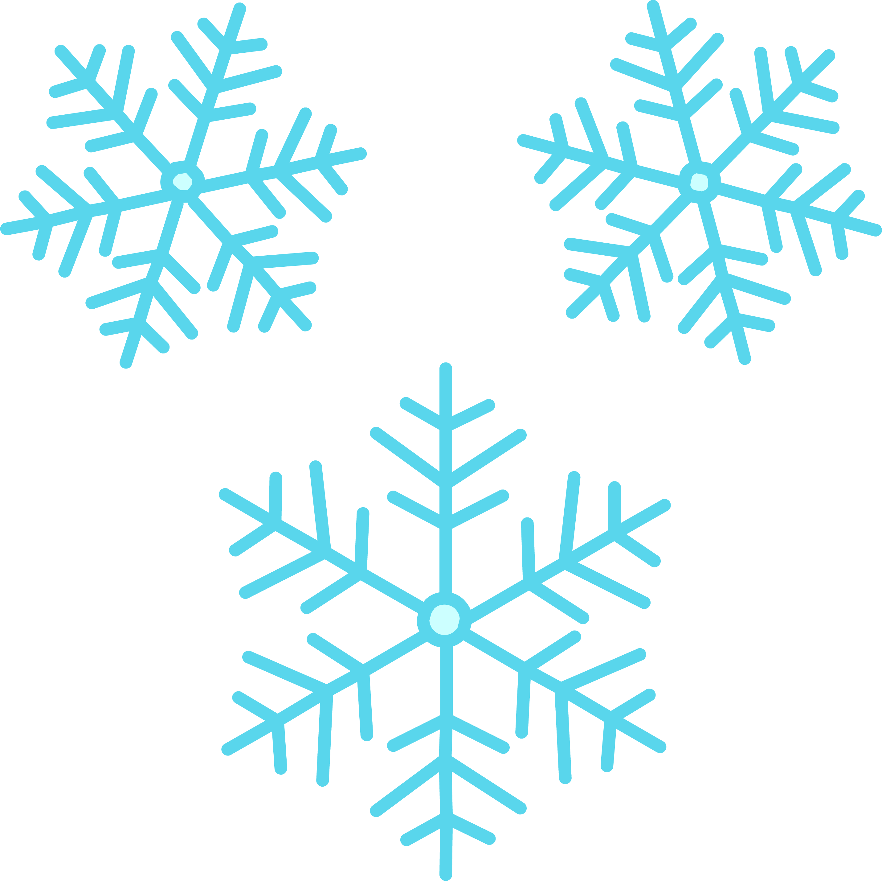 Snowflakes PNG - 6127