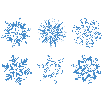 Snowflakes PNG - 6135